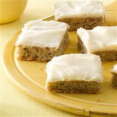 Need more potluck desserts? Get other potluck desserts for your dinner or gathering. Taste of Home has many tasty potluck desserts, potluck pie recipes, and potluck cake recipes. Potluck Desserts, Top 10 Desserts, Cookie Desserts, Cookie Recipes, Dessert Recipes, Small Desserts, Easter Desserts, Bar Recipes, Cheese Recipes