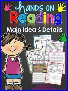 The Razzle Dazzle Classroom: Hands-on Reading: Main Idea & Details Guided Reading Groups, Reading Comprehension Activities, Reading Resources, Teacher Resources, Reading Passages, 2nd Grade Ela, Second Grade, Creative Teaching, Teaching Ideas