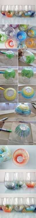 How To do glass jar Decor step by step DIY tutorial instructions
