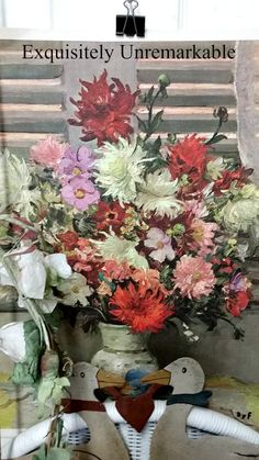 Floral Thrift Store Painting