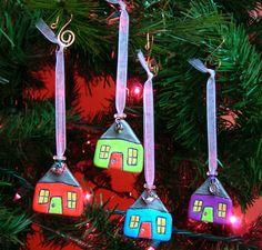 Handmade Ceramic Clay Ornaments