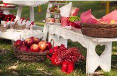Cesto com maçãs vermelhas. (Foto: Divulgação)