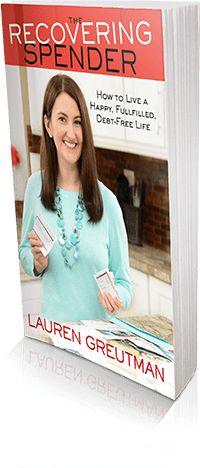 Lauren Greutman Recovering Spender
