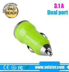 5v 3.1a usb car charger for iPhone5C,in car charger for iPhone5S with CE