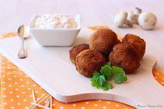 Madame Xícaras: Cogumelos Panados com Molho Tártaro
