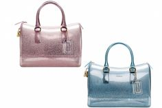 """Furla Spring/Summer 2012 Collection.... Speedy 'Candy' bags. PINK SPARKLES I""""M IN LOVE."""