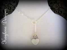 Discreet Slave Day Collar,, Locking Heart Collar, Valentine Collar on Etsy, $27.00