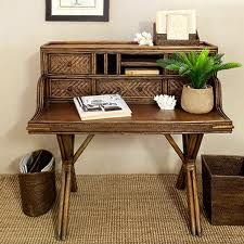 Love This Rattan Desk