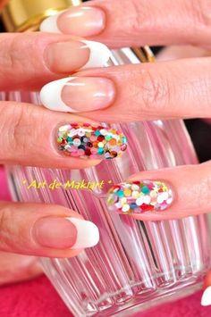 Confetti Nail Design