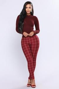 Best In Class Pants - Red