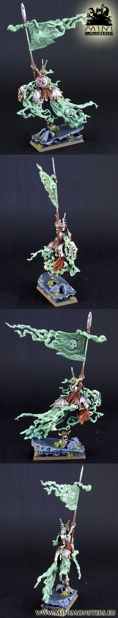 Vampire Counts Mounted Wight King BSB
