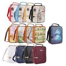 Women Fashion Backpack School Shoulder Bag Rucksack PU Leather Travel Bag NF