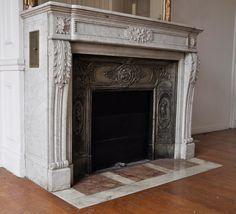 biedermeier style fireplace mantels - Google Search