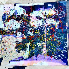 in collaborazione con Danielle David tecnica mista su tela 2013 NY