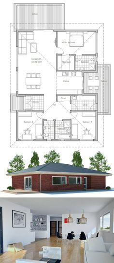 House Plan, New Home