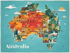 DISCOVER AUSTRALIA / Jimmy Gleeson Design