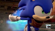 Sonic Boom (Sonic looks really cute)