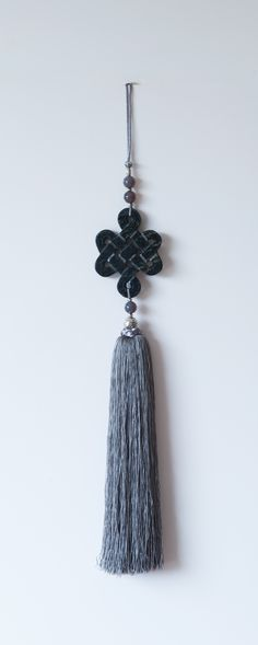 Chinese Intricately Carved Gemstone And Woven Silk Tassels By  Www.fulushou.co.uk