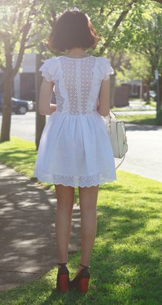 cute lace dress / storets