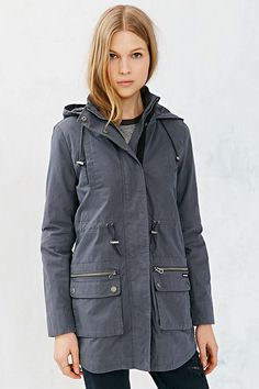 Members Only Coated Anorak Jacket - Urban Outfitters