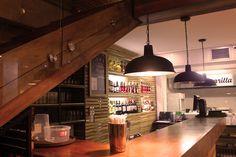 Más Finca on Behance #Design #Lamps #lightingdesign #Restaurant #SteakHouse #Angus&Brangus #Medellin #Colombia Restaurant Steak, Lighting Design, Behance, Kitchen, Home Decor, Restaurants, Colombia, Light Design, Cooking