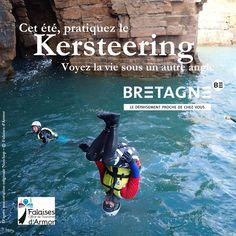 """Découvrez toutes les appropriations des acteurs du tourisme bretons dans le cadre de la campagne """"Dépaysez Vous en Bretagne"""".  Création : Falaises d'Armor  #DepaysezVousEnBretagne Angles, Cliff, Frames, Rural Area, Brittany, Tourism, Camera Angle"""