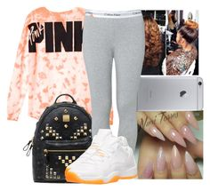 """""""Untitled #1130"""" by chynaloggins ❤ liked on Polyvore featuring MCM, Calvin Klein and Retrò"""