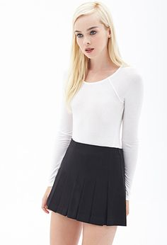 Slim-Fit Raglan Top | FOREVER21 - 2000121863