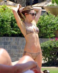 Pics Of Abbey Clancy in Bikini in Dubai