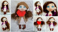 doll Crochet Hats, Dolls, Handmade, Fashion, Crocheted Hats, Baby Dolls, Hand Made, Moda, Doll
