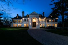 2290Saxony Luxury living at its finest!  The Saxony Manor is a palatial 18,000 square foot, four storey, 23 room, nine bathroom French Chateau inspired mansion
