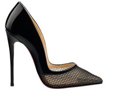 Christian Louboutin. Miluna pointed-toe pump.
