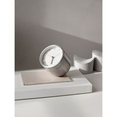 You'll have a hard time snoozing through the day with a sleek alarm clock by your bedside. Our Tumbler Alarm Clock by Norm Architects, from Menu has a modern and simplistic design, and is an essential element to modern bedroom decor. Mad Men, Alarm Clock Design, Tabletop Clocks, Shops, Menu Design, Design Shop, Brushed Stainless Steel, Messing, Modernism
