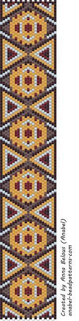 free peyote patterns схемы бисероплетение