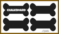 Hey, I found this really awesome Etsy listing at https://www.etsy.com/listing/159470537/dog-bone-vinyl-chalkboard-labels-set-of