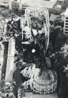 The devastating fire at the Ghost Train ride at Luna Park in Sydney. Luna Park Sydney, Parks In Sydney, Sydney City, Camden Nsw, Australian Road Trip, Coney Island, Historical Pictures, Train Rides, Sydney Australia