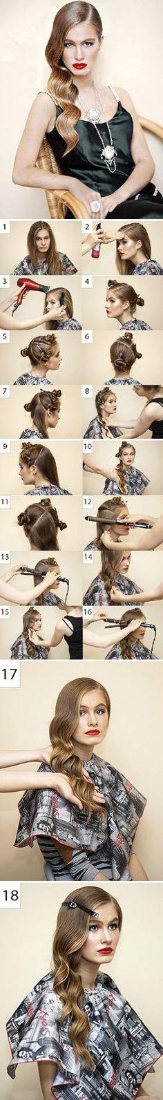 DIY Fashionable Hair Style