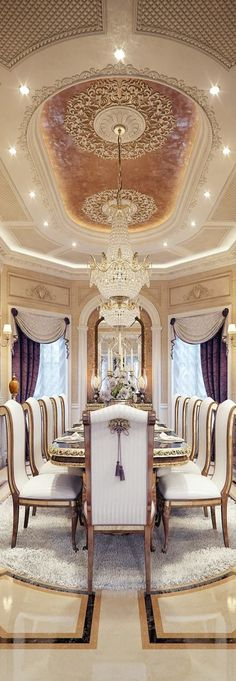 dream home - luxury formal diining