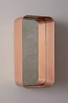 Industrial Mirror Regal - anthropologie.eu 128€