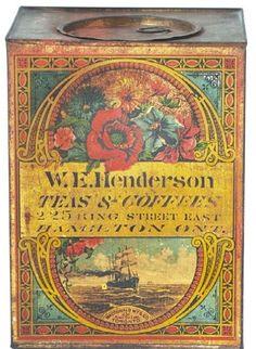 W.E. Henderson Tea