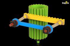 Gear Rack Mechanism 1 - 3D CAD model - GrabCAD