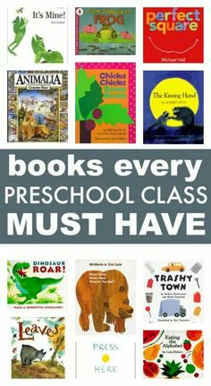Books for preschool classrooms