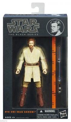Star Wars Black Series 6-Inch Action Figures Obi-Wan Kenobi Wave 3