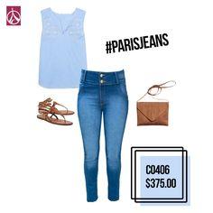 No cabe duda que este outfit es ideal para ti.  www.paris-jeans.com