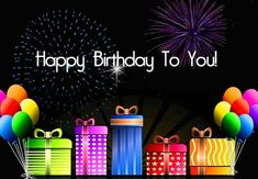 #Whatsapp sparkling #birthday wishes to your loved ones with thsi #ecard…