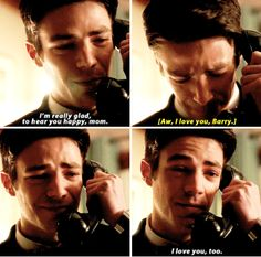 #TheFlash #2x13 - It was just good to talk to my mom.