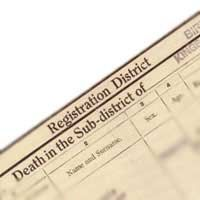 Death Certificates 1837 to Present Time: Family History Research