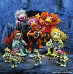 Dance your cares away.  Worries for another day. Let the music play- down at fraggle rock!