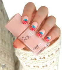 Nailpolis Museum of Nail Art   Strawberry nails by Paulina