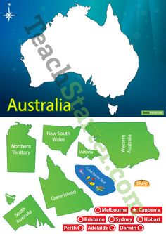 Help your students concrete their understanding of the map of Australia with this interactive game. Australia Map, Western Australia, Map Symbols, Map Puzzle, Map Games, Geography For Kids, Australian Continent, Location Map, Social Science